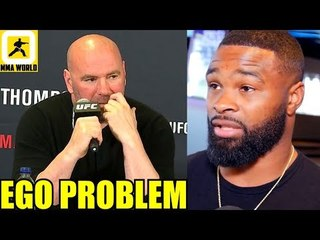 I haven't spoken to Dana White in over a year,Tyron Woodley-Usman will be puzzled,Khabib on GSP