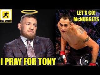 Conor McGregor finally responds to Tony Ferguson's callout,Smith on  Jones,Tyron Woodley,UFC 235