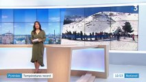 Hautes-Pyrénées : températures records sur les pistes