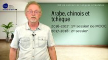 """DE BUT EN BLANC : Luc Deheuvels nous parle des MOOC """"  Kit de contact en langue tchèque, arabe et chinoise """""""