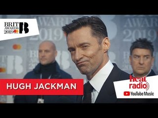 Hugh Jackman reveals his love for P!NK at the BRITS