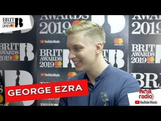 George Ezra says they don't teach you about acceptance speeches at school!