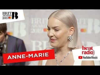 Anne-Marie and Little Mix bump into each other on the red carpet and the love is REAL