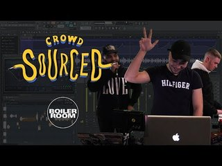 WIZE & friends make beats with sounds you send in | Boiler Room 'Crowdsourced'