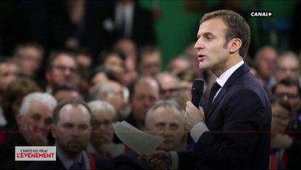 La riposte de Macron