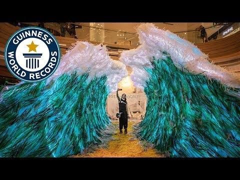 Strawpocalypse: Largest straw sculpture - Meet The Record Breakers