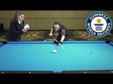 Florian Kohler: Longest time to spin a billiards ball! - Guinness World Records
