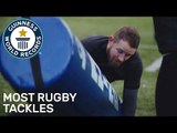 Most rugby tackles in one minute (BBC Six Nations) - Guinness World Records