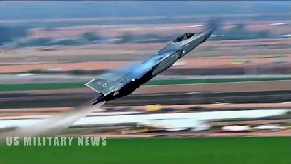 This is Why an F-22 Raptor Will Defeat F-35 in a Dogfight - video
