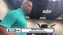Brian Flores on Bill Belichick's influence