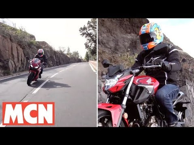 Honda CBR500R and CB500F bike review | MCN | Motorcyclenews.com