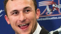 Johnny Manziel's Career With The Alouettes Is Done And Dusted