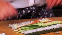 Cuisiner un maki trio de la mer