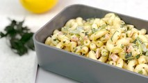 Cold Ham and Mustard Macaroni Salad