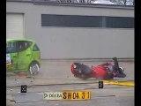 Crash Test Quad VS Car et Moto VS Car accident route