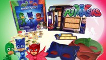 PJ Masks Night Sight Game w Catboy Gekko Owlette for Family Game Night || Keith's Toy Box
