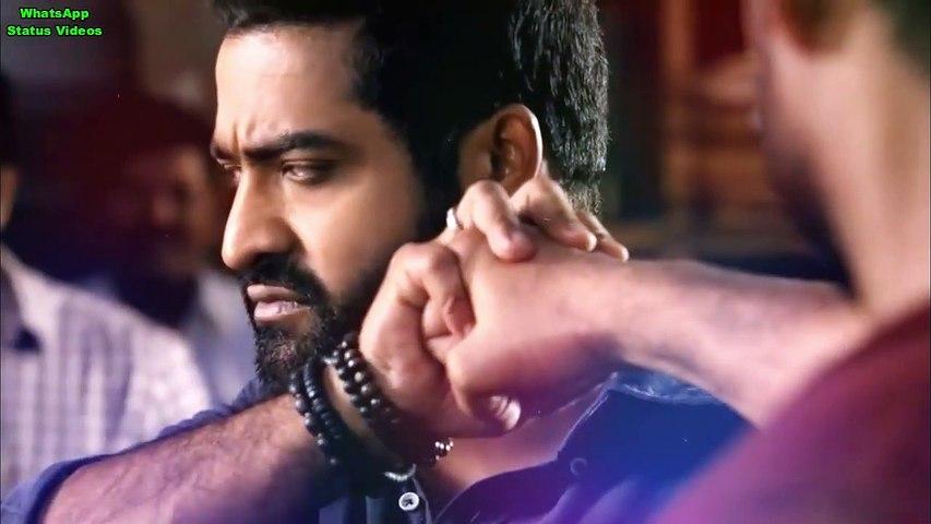 Janta Garage NTR Hindi Dubbed Movie Scene NTR Movie Fight WhatsApp Status  Video