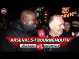 Arsenal 5-1 Bournemouth   If Emery Doesn't Play Ozil v Spurs Its A Sackable Offence! (Claude)