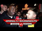Arsenal 5-1 Bournemouth | I Love Ozil But I Wouldn't Play Him Against Spurs (Graham)