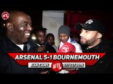 Arsenal 5-1 Bournemouth | Should Ozil Start vs Tottenham? (Robbie Asks Fans)