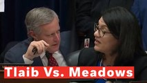 Watch: Reps. Tlaib And Meadows Get Into Heated Exchange At End Of Cohen Hearing