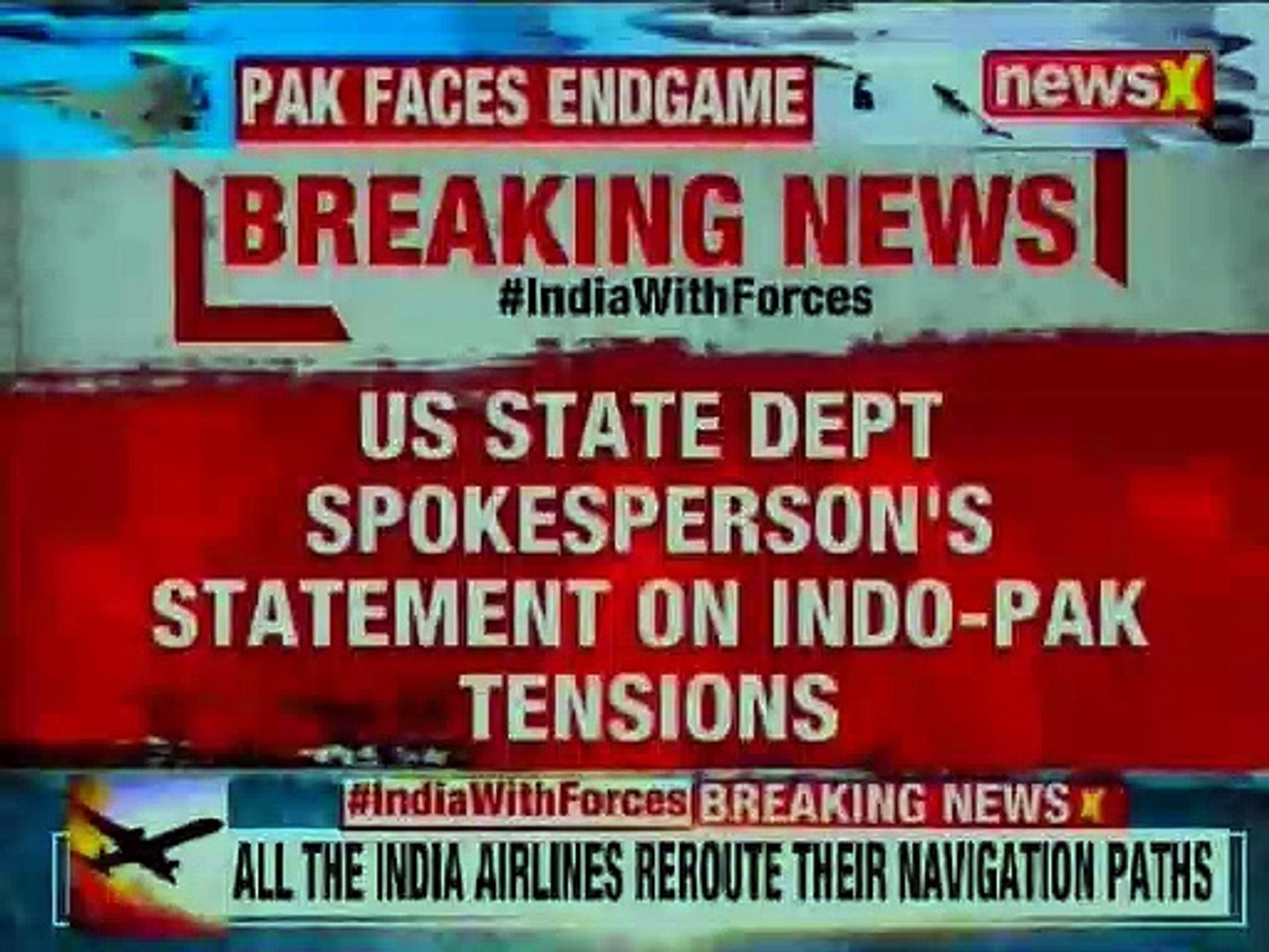 India Pakistan Tension LIVE: US urges India Pakistan tode-escalate the situations along LOC border