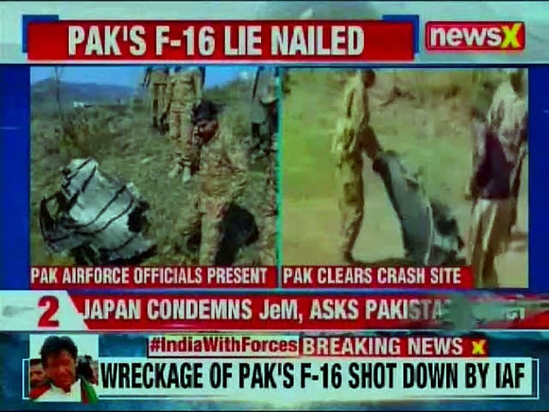 IAF strikes PoK, PAF violate Indian Air Space: Pakistan hides Proof of Pakistani F16 shot by IAF