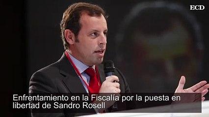 Enfrentamiento en la Fiscalía por la puesta en libertad de Sandro Rosell