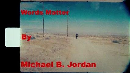Words Matter: Michael B. Jordan stars in a Spike Lee Joint for Coach