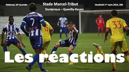 Réactions USLD - Quevilly-Rouen Métropole