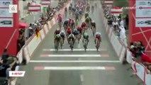 Cyclisme - UAE Tour - Elia Viviani remporte la 5e étape devant Fernando Gaviria et Marcel Kittel