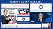 """Marine Le PEN """"irréprochable"""" en Israël parle de SORAL...Lire descriptif (Hd 720)"""