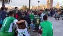 Valencia-Betis: Shalalala Oh Real Betis