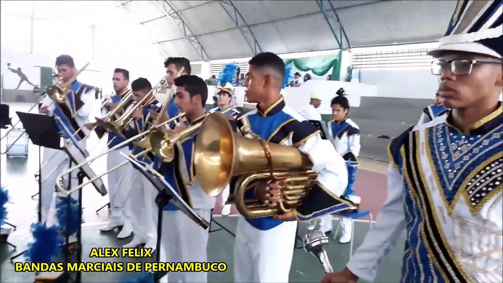 Banda Marcial Prof.a Debora Duarte 2018 _ XI COPA NORDESTE NORTE DE BANDAS E FANFARRAS EM ALTINHO PE