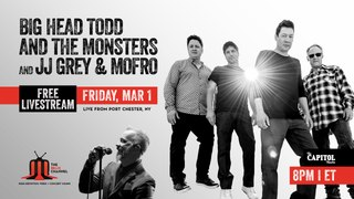 Big Head Todd and the Monsters + JJ Grey & Mofro :: 3/1/19   8PM ET :: The Capitol Theatre :: Sneak Peek