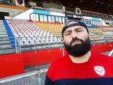 Mike Tadjer (FCG) avant Clermont