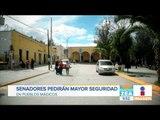 Senadores pedirán mayor seguridad en Pueblos Mágicos | Noticias con Francisco Zea