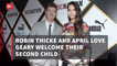 Robin Thicke Welcomes Baby Number 3