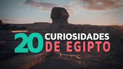 20 Curiosidades de Egipto | El país de los faraones