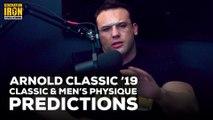 Arnold Classic 2019 Classic Physique & Men's Physique Predictions | Generation Iron