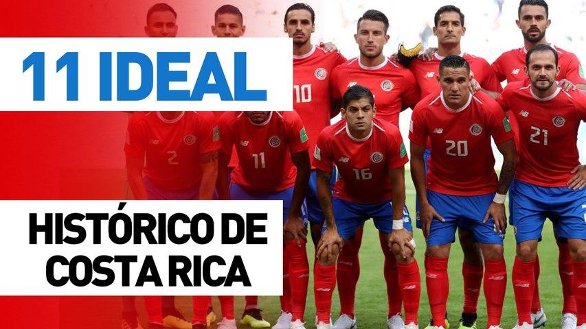 11 ideal | Costa Rica (todos los tiempos)