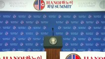 Trump's full press conference after Kim Jong Un summit in Vietnam