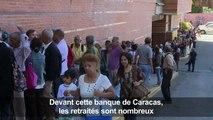 Crise au Venezuela : les retraités en difficulté
