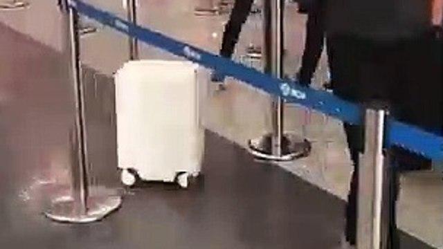 This luggage follows you