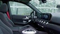 Der neue Mercedes-AMG GLE 53 4MATIC+ - Interieur-Design mit roten Akzenten