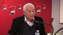 """Philippe Sollers : """"Le président de la République se présente hier comme un directeur commercial avec toutes ces femmes, c'était sinistre [...] Nous sommes dans la France pathétique, la France liquéfiée"""""""