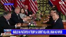 GLOBALITA: Mabilis na pagtapos ni Trump sa Summit nila ni Kim, umani ng papuri