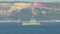 Çanakkale Rus Savaş Gemisi 'Azov' Akdeniz'e İniyor