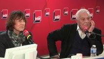 Philippe Sollers et Josyane Savigneau au micro de Léa Salamé
