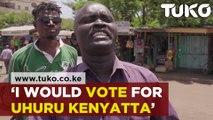 "Kisumu Residents on Voting for Uhuru Kenyatta's ""third term"""